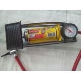 Bomba De Aire Para Bicicleta Foot Pump. Capacidad 120 Psi.