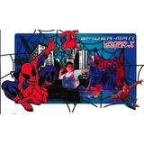 Lanza Y Esquiva Spiderman Hombre Araña 2 Chalecos 6 Bolas
