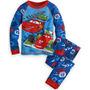 Pijamas Cars Jake Mickey Mouse De 2 Piezas Disney Para Niños