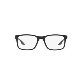 49880f95886e4 Culos Prada Sport Eyeglasses Ps 55dv 1bo1o1 Black Shiny 54m - Óculos ...