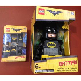 Reloj Despertador Y De Mano Lego Batman Movie