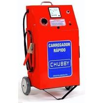 Carregador De Bateria Chubby 50ah/12v C/auxiliar De Partida.