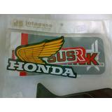 Jogo Adesivo Honda Xl250r Vermelha 1982/83,otima Qualidade