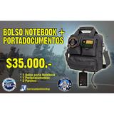 Bolso Notebook Táctico Militar