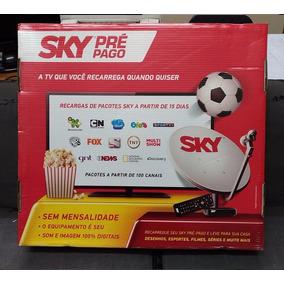 Kit Sky Pré Pago Sd Completo