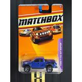 Matchbox Ford F-150 Svt Raptor Azul Raro Caminhonete