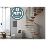 Projeto Escada Caracol Mais Completo Do Mercado Livre