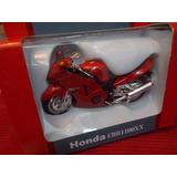 Moto Honda Cbr1100xx Metal 13 Cm Largo
