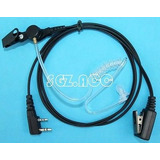 Tubo Covert Auricular Acústico Para Kenwood Baofeng Uv-5r Do