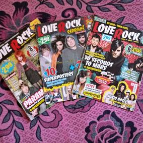 Revistas Loverock Em Bom Estado (frete Já Incluso)