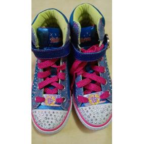 Zapatos De Niña Carters Skechers Talla 11,5 Americana.