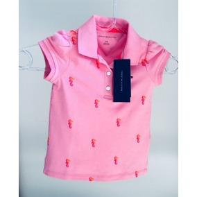 Polo Infantil Tommy Hilfilger Feminina 2 Anos -nova/original