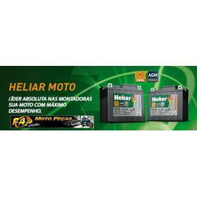 Bateria Moto Heliar Htz6 Cg150 Titan