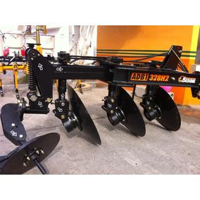 Arado Agricola De 3 Discos Hidraulico Marca Bison