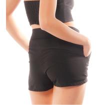Sarkany Mor - Short Mujer De Crepe Tiro Alto
