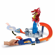 Pista Hot Wheels - Fúria Do Dragão - Mattel Dwl04