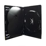 Box Dvd Amaray Triplo Preto 500 - Unidades