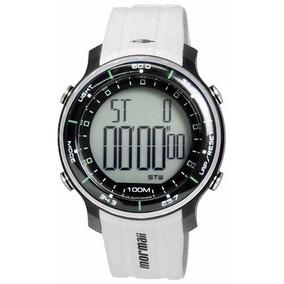 Relógio Mormaii Branco Digital Masculino Esportivo G395ab/8b