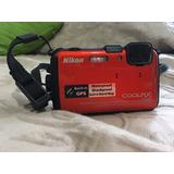Camara Nikon Bajo El Agua Aw100 Estilo Gopro