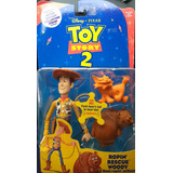 Muñeco Personaje Toy Story Ropin Rescue Woody Sonido Rdf1