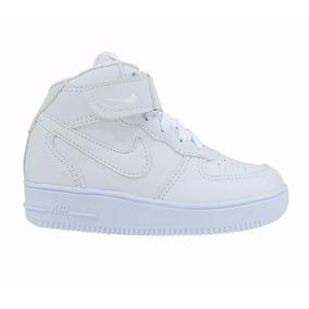 Promoção Bota Nike Infantil Air Force Cano Alto Fem E Masc