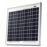 Painel Placa Célula Energia Solar Fotovoltaica 12v 10w Inmet