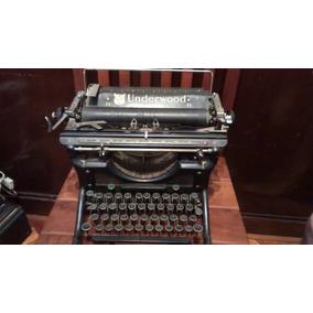 Máquina De Escribir Antigua Underwood