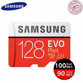 Cartão Samsung Micro Sd Xc Evo Plus 128gb 100mb/s Uhs-i (u3)