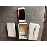 Iphone 5 Blanco 16gb + Carcasa Funcionando(detalle Pantalla)
