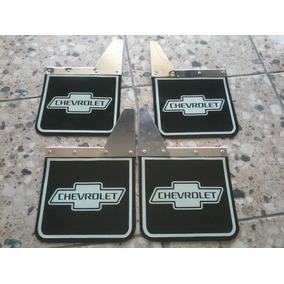 4 Lameira Chevrolet 4 Peças Inox C10 Antiga Frete Gratis