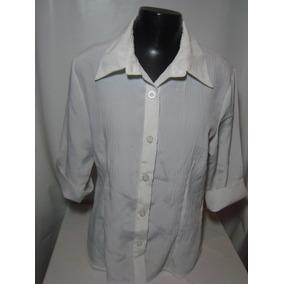 Camisa Feminina Em Chiffon Tam P