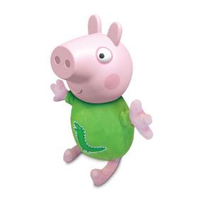 Boneco George Cabeça De Vinil - Peppa Pig - Estrela