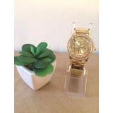 Reloj Ch Dorado Para Damas