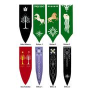 Estandartes Señor De Los Anillos Lord Of The Rings Tolkien