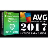 Avg Antivirus 2017 Licencia Original 1 Computadora Asta 2019