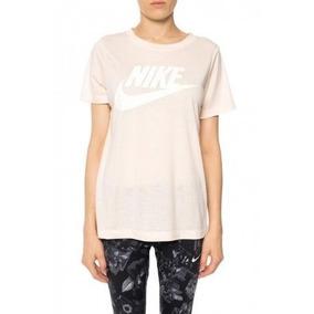 Camiseta Nike Feminina Original Academia 829747 838 Rosa 52c07d6575b67