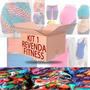 Kit Revenda 1 - Moda Feminina Fitness 12 Peças Regata Shorts