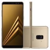 Samsung Galaxy A8 64gb Ouro Dourado Completo Lacrado Nota