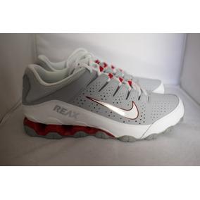 0d42d88d1a Tenis Masculino Nike Reax 8 Tr Cross Trainer Cinza-branco