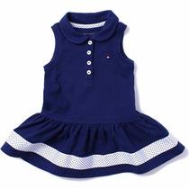 Vestido Tommy Hilfiger Infantil Bebê - Original