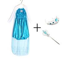 Disfraz Para Niña Vestido De Traje De Los Muchachos Reina C
