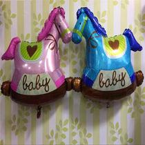 Globo Metalizado Baby Shower - Helio- Bebes- Nacimientos