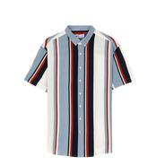 Camisa Manga Corta Estampada De Hombre C&a (3005837)