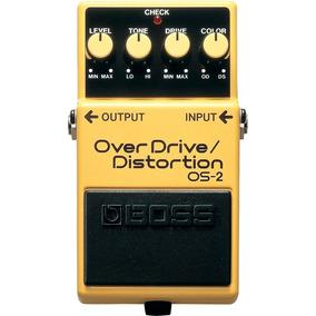 Pedal Para Guitarra Boss Os-2 Overdrive/distortion