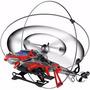 Helicóptero Giroscópio Com Escudos Shield Ii Dtc 3218 Vermel