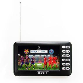 Mini Tv Digital Portatil Com Tela 4.3 Polegadas
