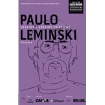 Livro - Paulo Leminski - Ensaios E Anseios Cripticos