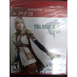 Juego Ps3 Final Fantasy Xlll . Nuevo Y Sellado.