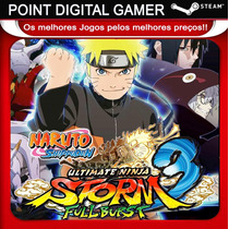 Naruto Shippuden Ultimate Ninja Storm 3 Full Burst- Steam Pc