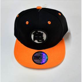 e7528413847c8 Gorra Plana Bordada   Dragon Ball   Para Niño   Ajustable